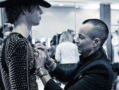 Top Billing features designer to the stars Julien Macdonald