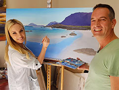 Top Billing features landscape artist Andrew Cooper