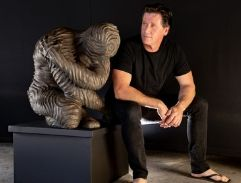 Top Billing features the work of sculptor Marco Olivier