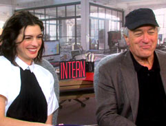 Top Billing meets the stars of The Intern