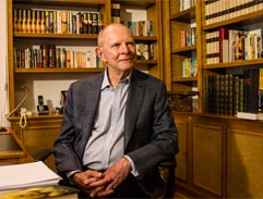 Top Billing meets writer Wilbur Smith