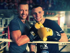 Top Billing steps into the ring with boxer Kevin Lerena