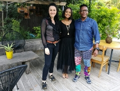 Top Billing tours a Afro-Japanese inspired home