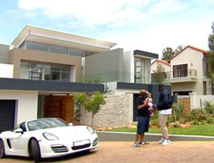 Top Billing visits DJ Sbu at his home
