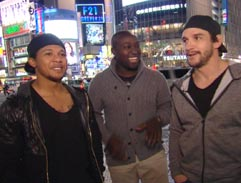 Top Billing visits Keegan Daniel and Elton Jantjies in Japan