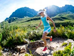 Trail running powerhouse Landie Greyling