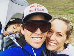 Vanessa and Ryan Sandes share their journey as new parents