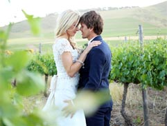 Vanessa Haywood and Ryan Sandes get married