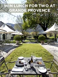 WIN A WINELANDS LUNCH