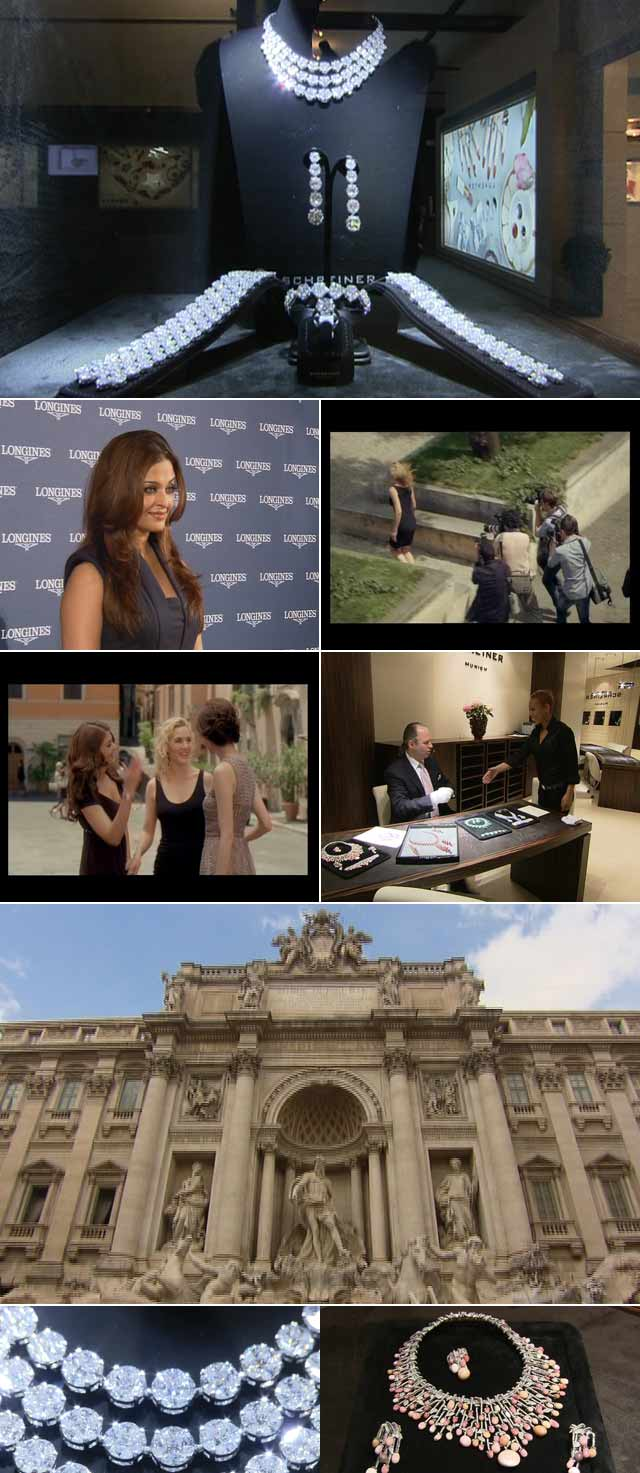 Top Billing goes behind the scenes at the new Longines Advert in Rome