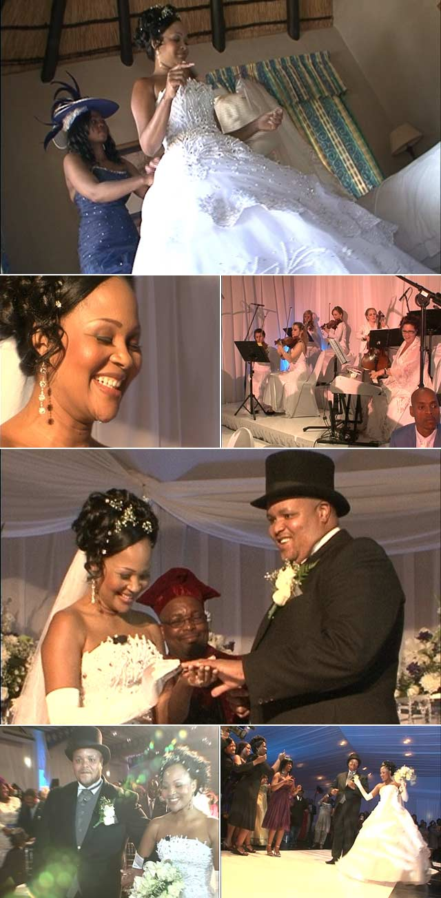 Top Billing attends the wedding of Zanele Mbokazi and Mpendulo Nkambule