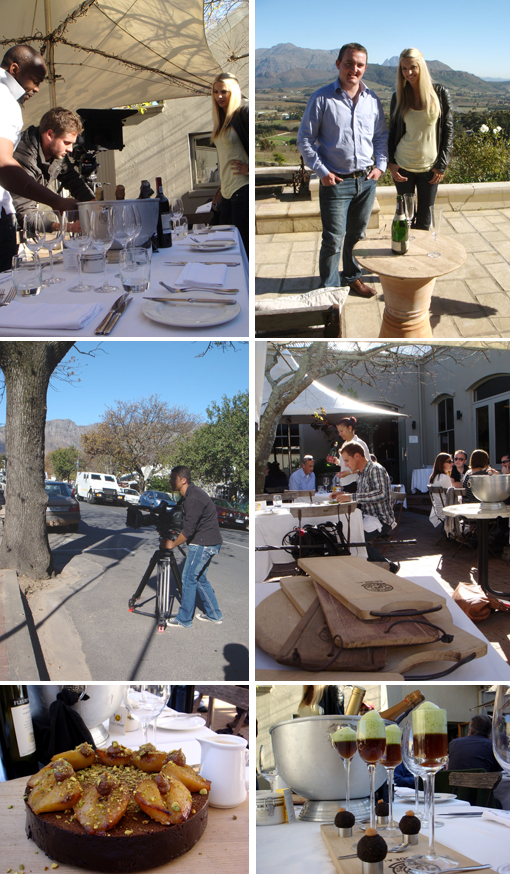 Top Billing goes to Fabulous Franschhoek to enjoy food, wine, bubbly and friends.