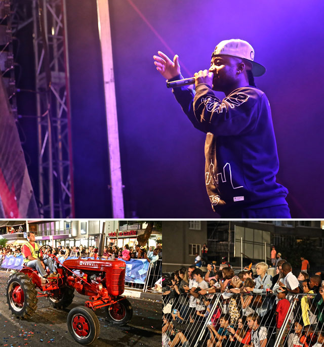 The Cape Town Carnival recently rocked the Mother City Casper Nyovest,