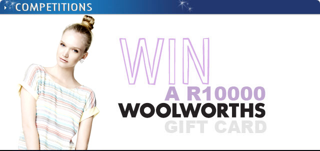 Win a R10000 woolworths voucher on Top Billing