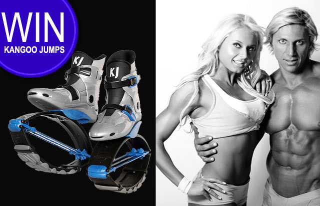 Top Billing and JVL are giving away Kangoo Jumps Shoes