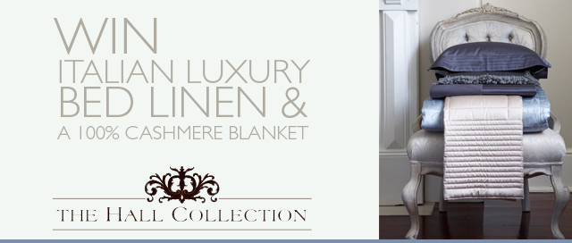 Win luxury Italian bed linen