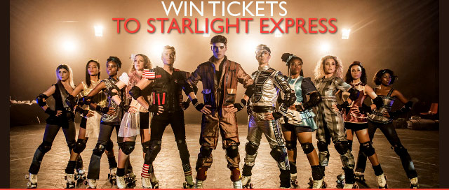 Win tickets to Starlight Express