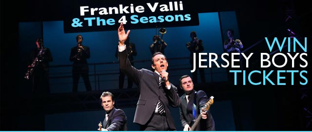 Win tickets to see the Jersey Boys