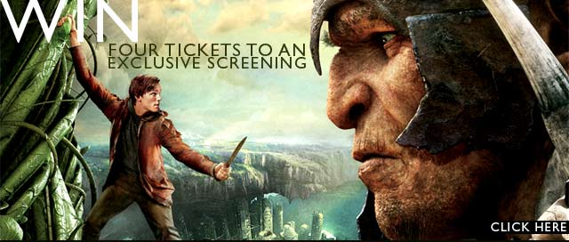 Win exclusive movie tickets to see Jack the Giant Slayer