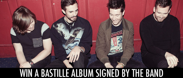 Win a signed Bastille album