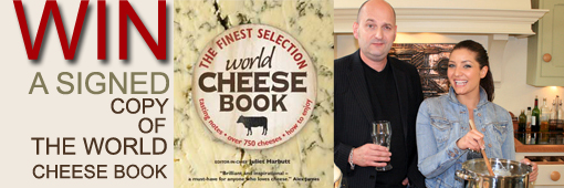 Win a signed book of cheese