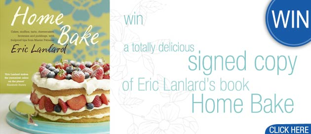 Win an Eric Lanlard Cookbook