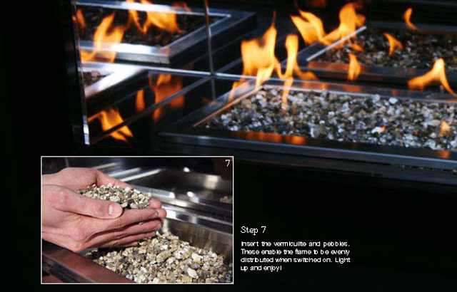 Gas fireplace DIY 7