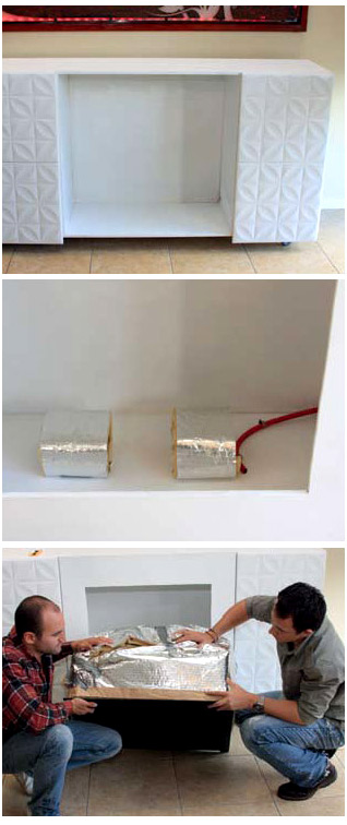 DIY Build your own gas fireplace