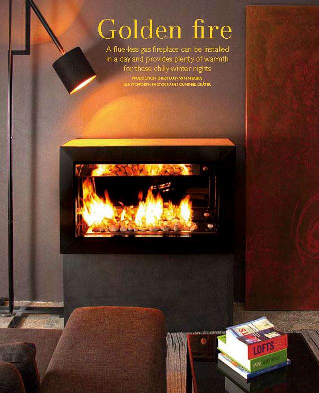 DIY Gas Fireplace 640 x 787