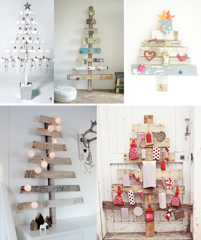 DIY Make a shabby chic Chritmas tree