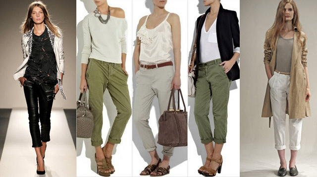 Fashion tip - wearing ancle length pants