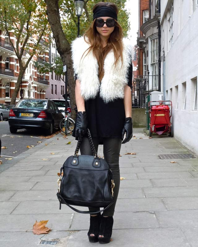 Top Billing Fashion tip Faux fur gilets
