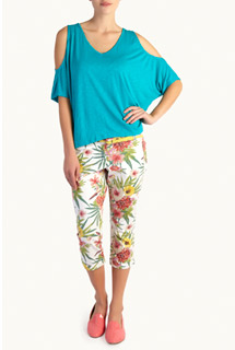 Woolworths tropical capris