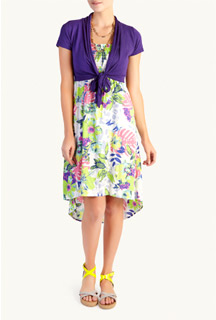 Woolworths tropical dress 1