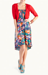 Woolworths tropical dress 2