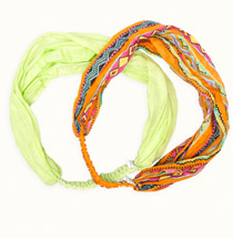 Woolworths tropical headband