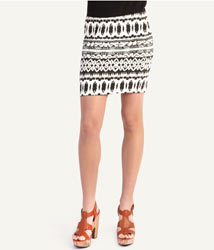 Woolworths tribal mini skirt