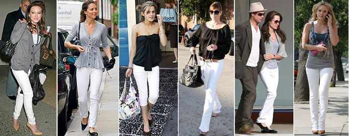 Top Billing Fashion Editor Alexis Chaffe shares her tips on skinny white jeans