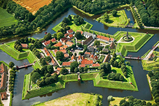 Bourtange walled cities