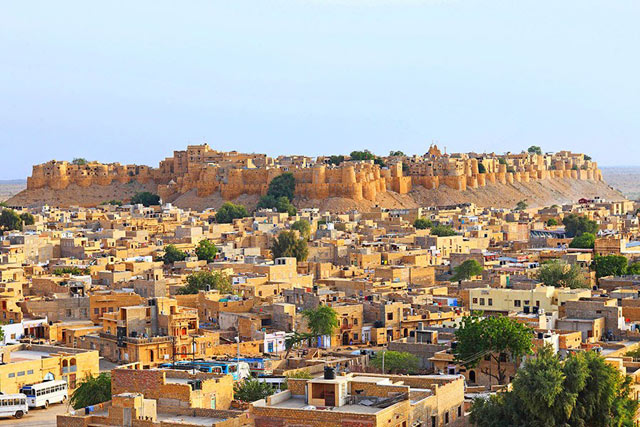 Jaisalmer walled cities