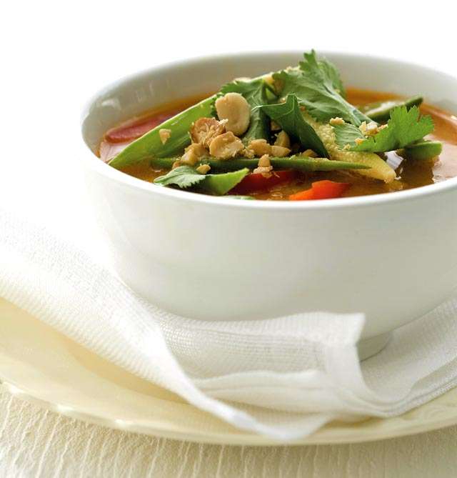 Thai peanut curry recipe