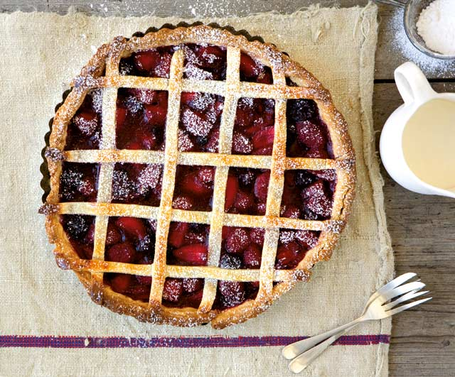 Berry pie with cream cheese pastry recipe