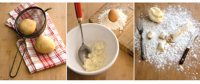 Step by step instructions on who to make gnocci