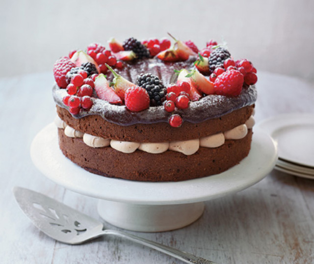 Eric Lanlard's chocolate cake recipe