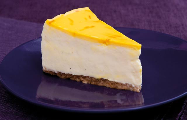 Saffron cheesecake recipe by Top billing