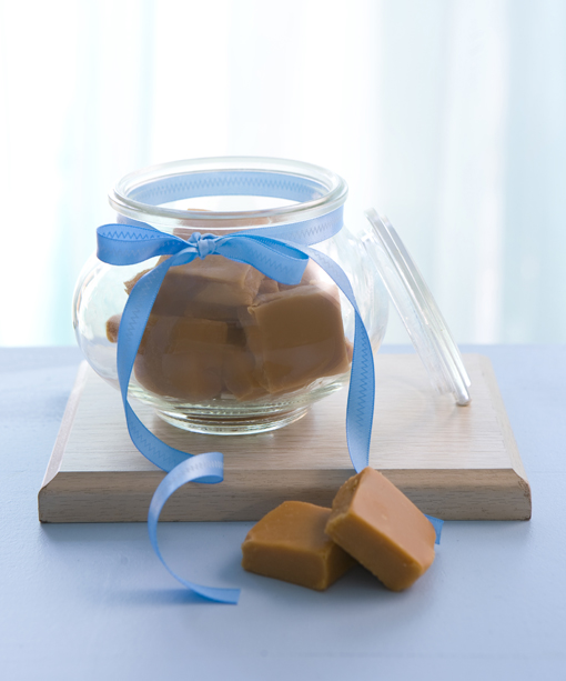 Microwave condensed milk fudge