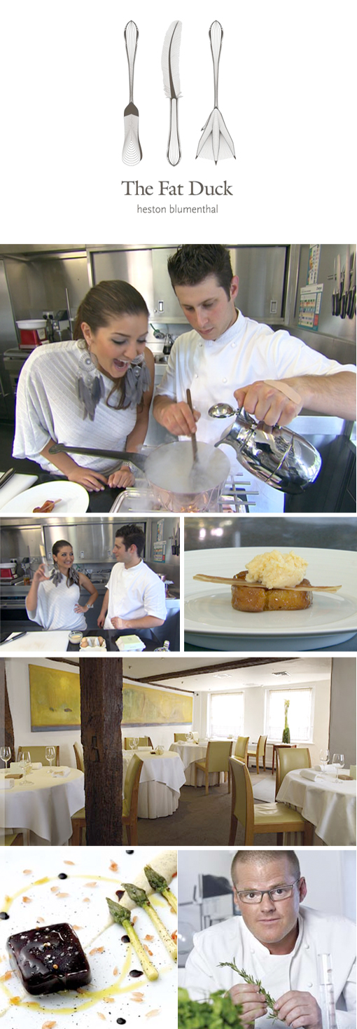 TopBilling visits the Internationally Acclaimed  Fat Duck Restuarant
