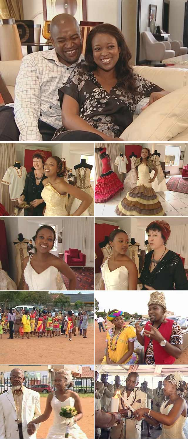 Sarah Ngubeni's wedding