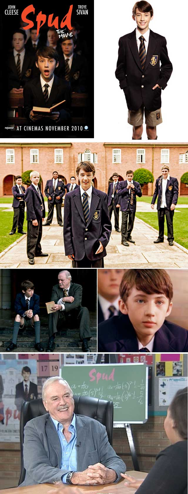 Top Billing interviews the cast of Spud the movie staring John Cleese and Troye Sivan