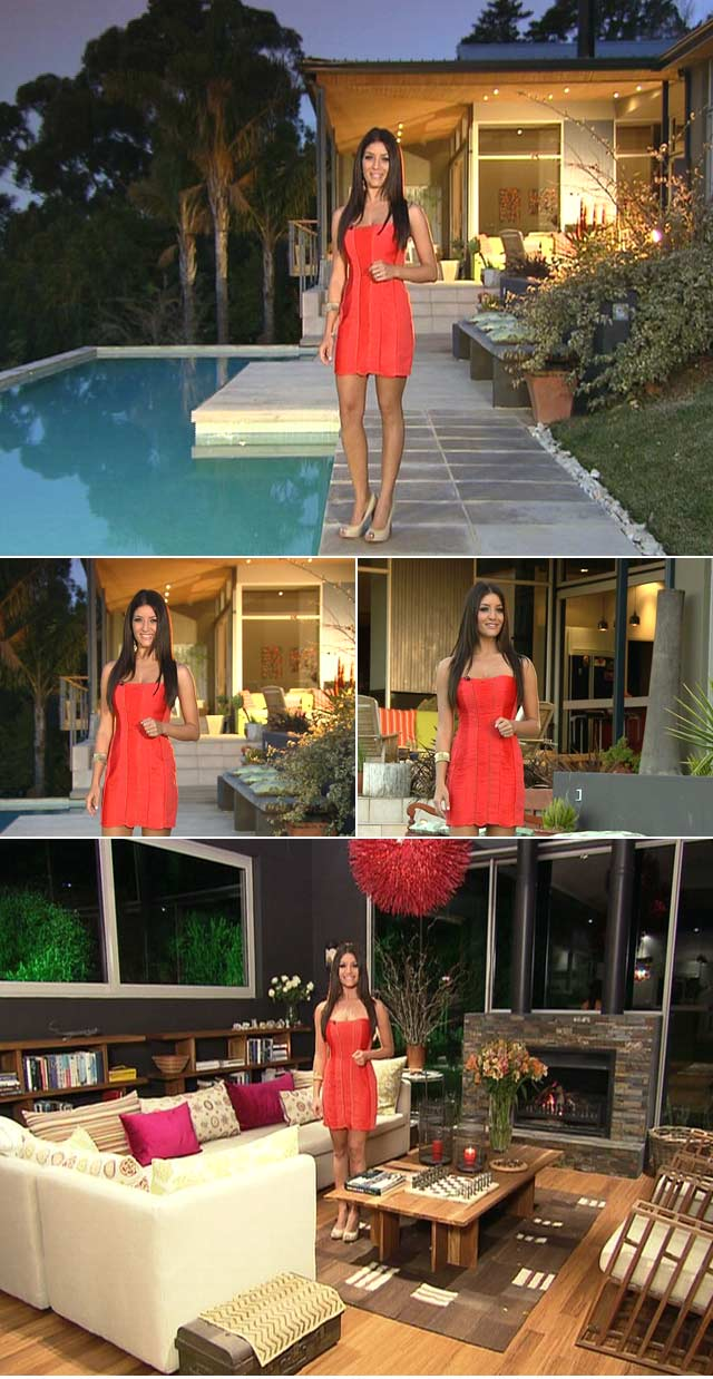 Jeannie D's Coral dress by Lipsy